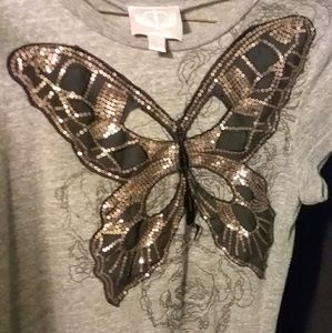 Romeo and Juliet Couture butterfly tee